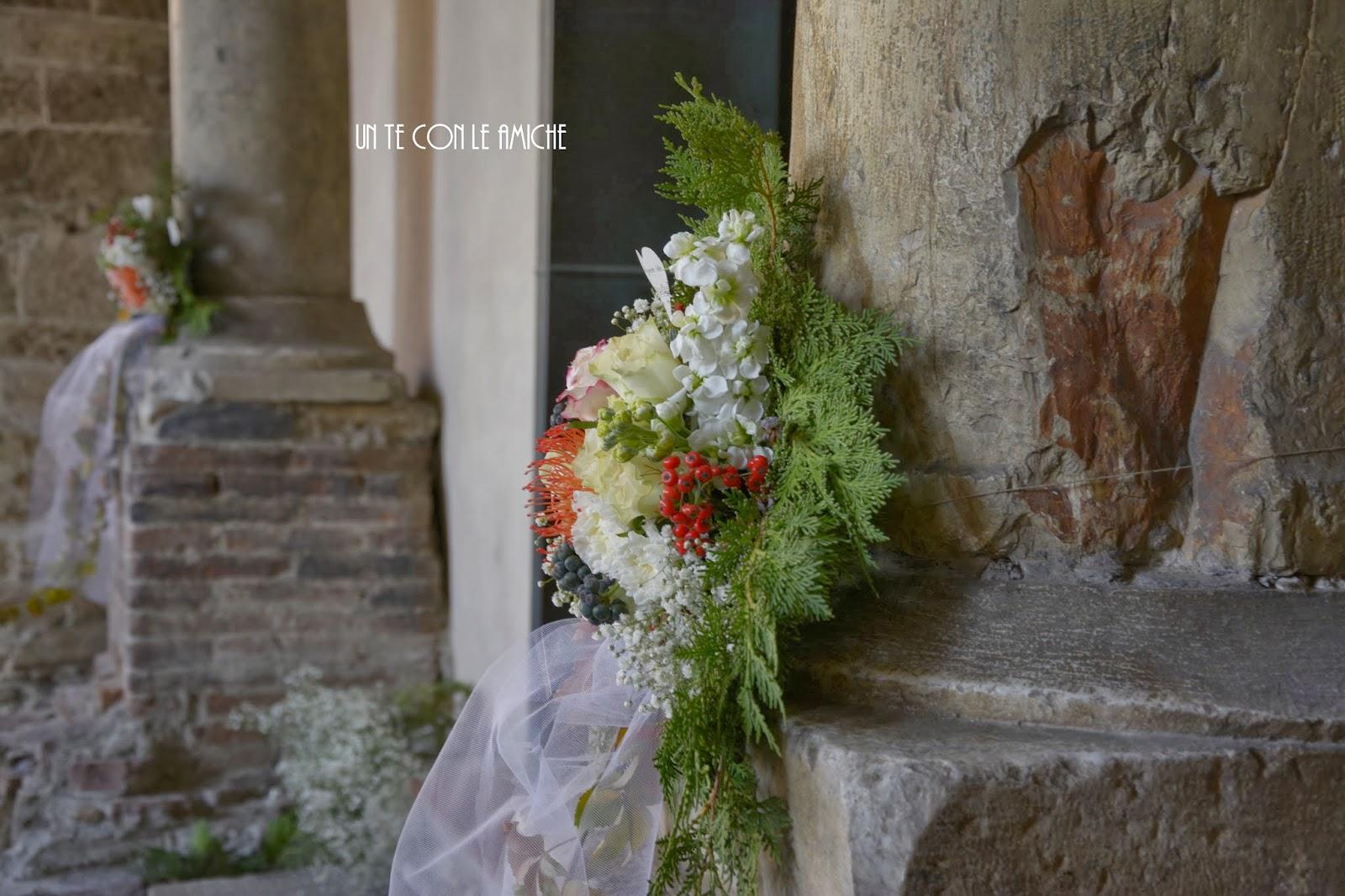 fiori matrimonio pisa
