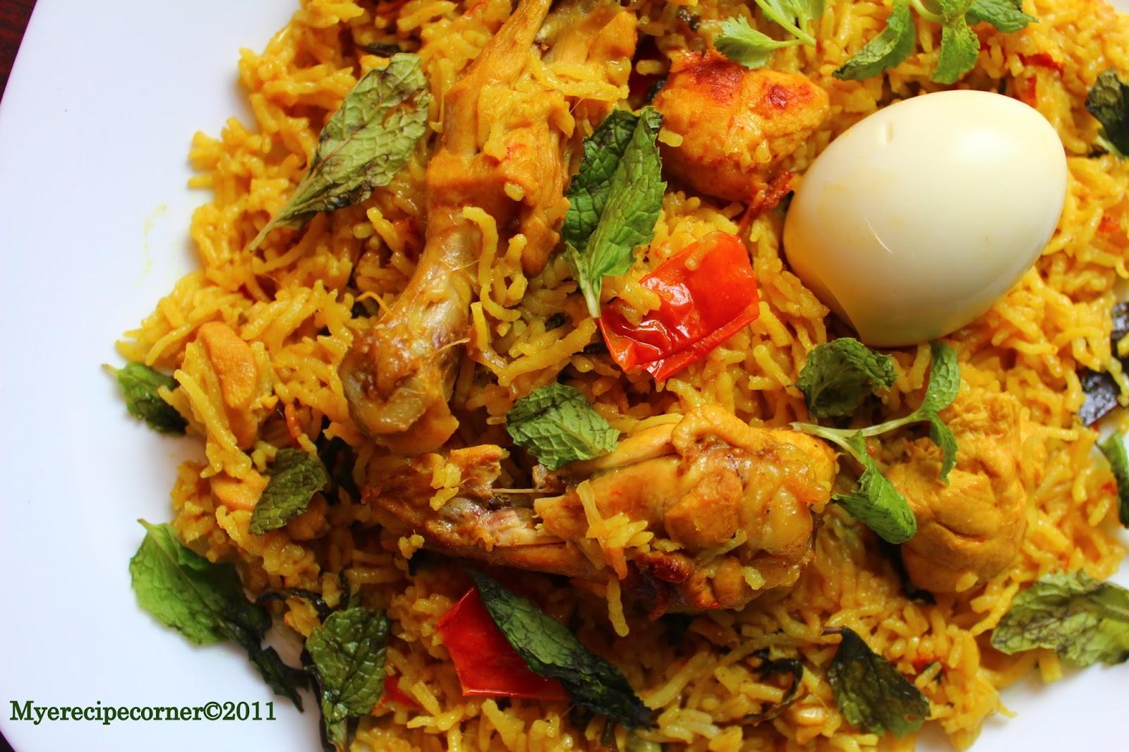 Chicken biryani kerala muslim style - photo#15