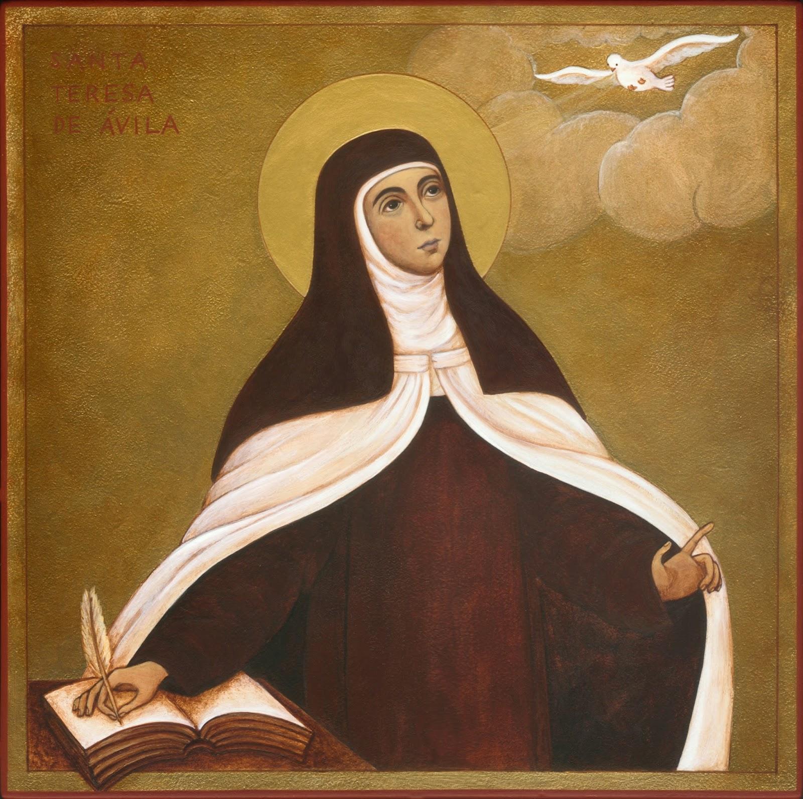 sainte therese d'avila priere