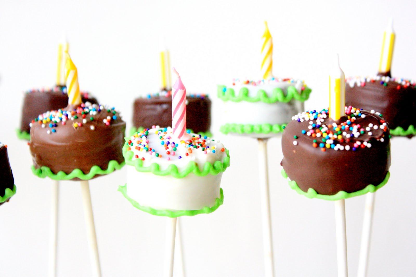 Munchkin Munchies Birthday Cake Brownie Pops