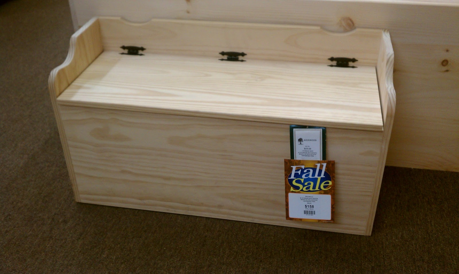 Free Plans Build Wooden Toy Box