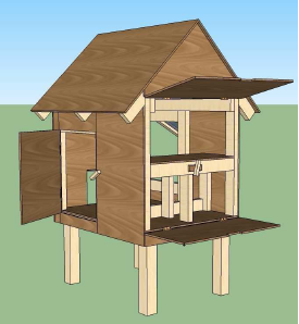 Looking for small chicken coop building plans venpa for Small chicken house plans