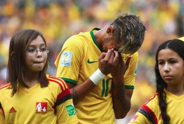 Neymar llorando: Una imagen que refleja el antes y después del empate con México