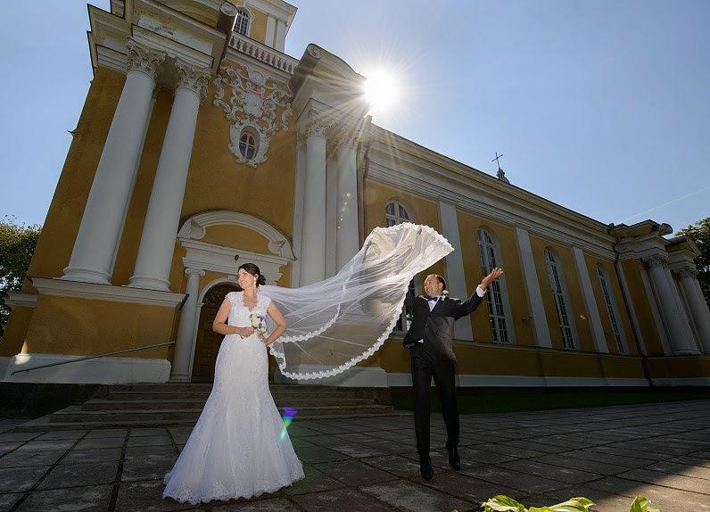 modernios vestuvės