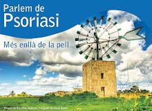 CARTEL ANUNCIADOR DE LAS JORNADAS INFORMATIVAS DE ACCIÓN PSORIASIS EN EL HOSPITAL DE SÓN ESPASES
