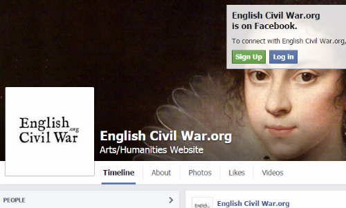 englishcivilwar.org on Facebook