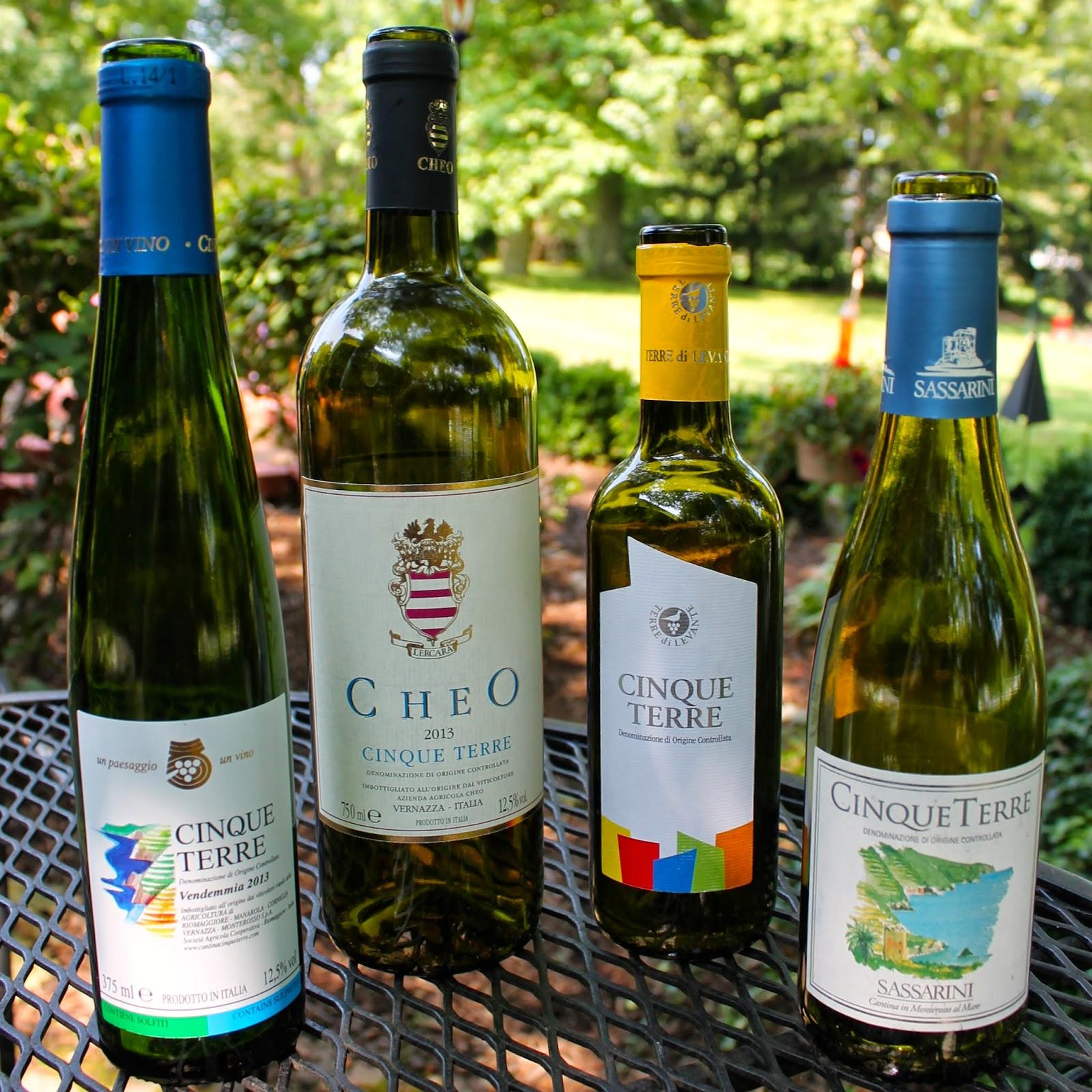 Cinque Terre wine bottles