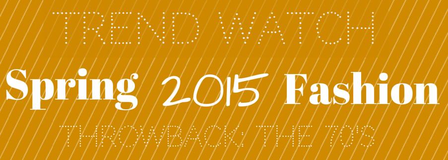 Shabby Fabrics- Trend Watch: Spring 2015 Fashion