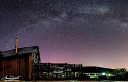The Milky Way above Merlin Farm