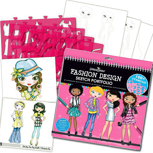 Fashion angels fashion design kids sketch portfolio auto design tech for Fashion angels interior design sketch portfolio
