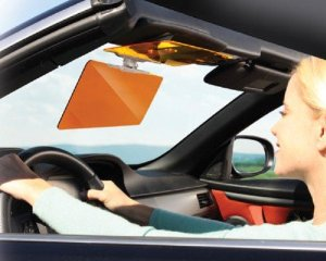 Plafoniere Per Auto : Parasole per auto con vetro anti riflesso giorno notte sole nebbia