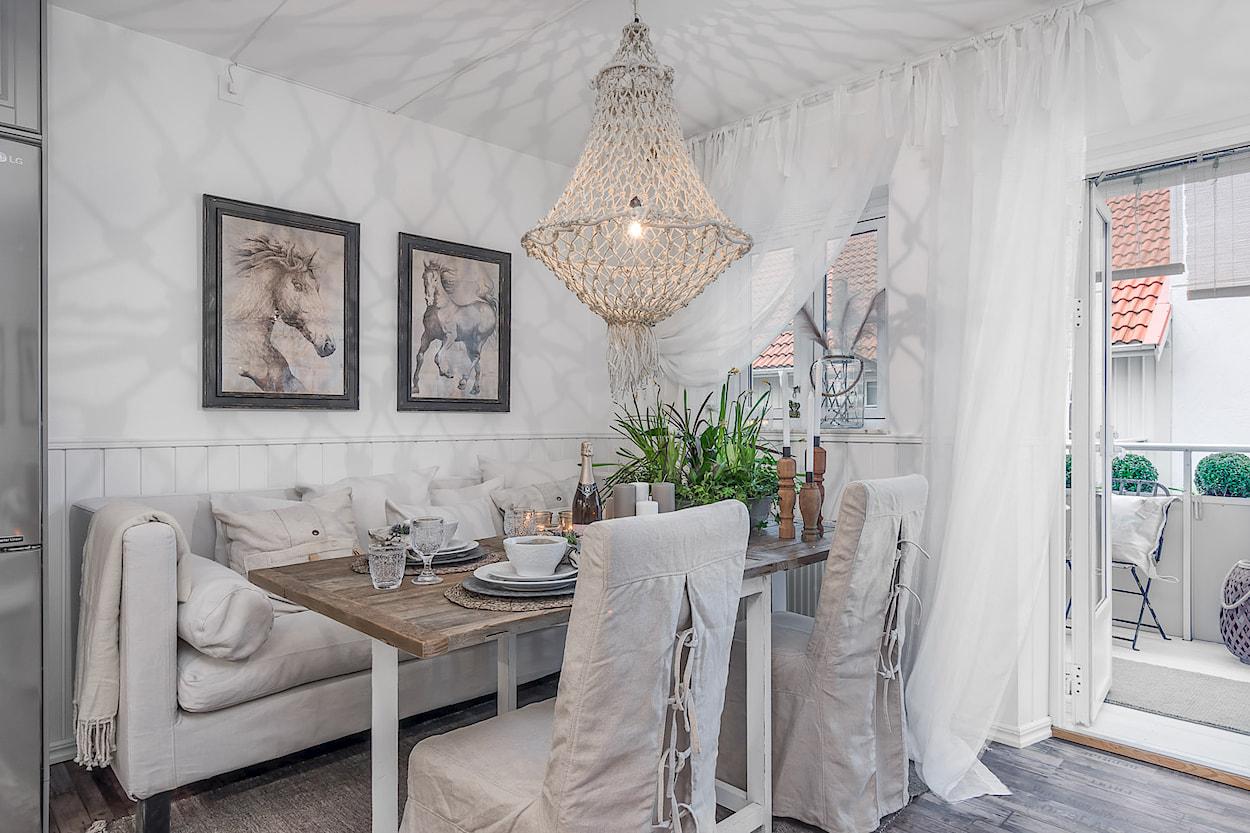 Arredare piccoli spazi: una meraviglia shabby chic in 49 mq | La ...