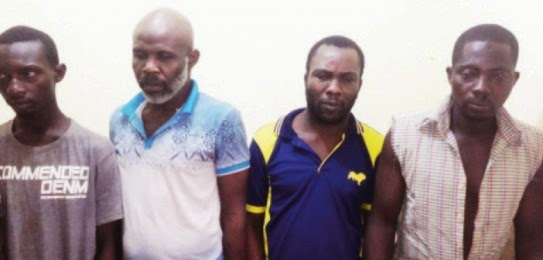 Just back from Ikoyi prisons� 5 suspects nabbed again for robbery