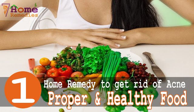 nutrition food prevents acne break out