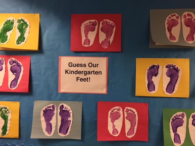 Kindergarten Feet!