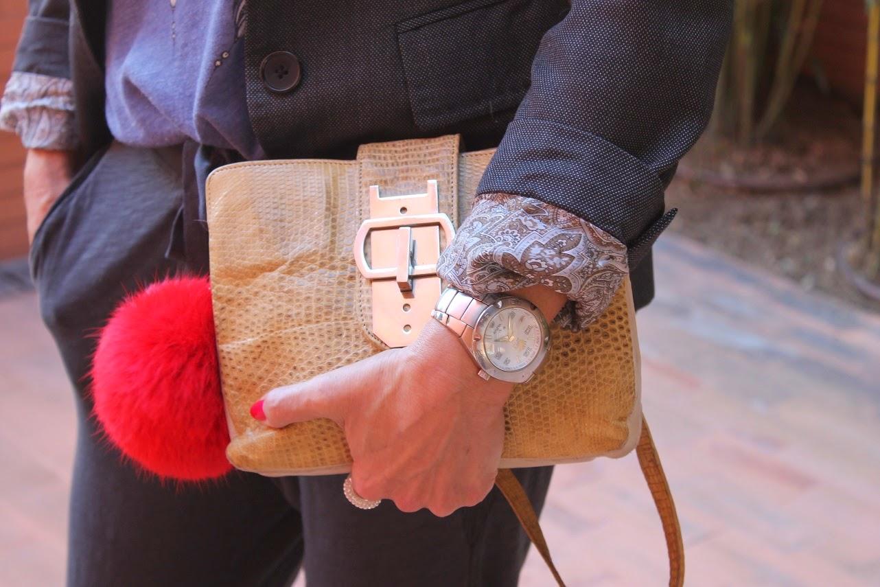 Look, Carmen Hummer, Pantalón Baggy, Sandals, Bag, Wilfox, Tshirt, Blazer, Cool, Style, Fashion blogger, Blog de Moda Madrid