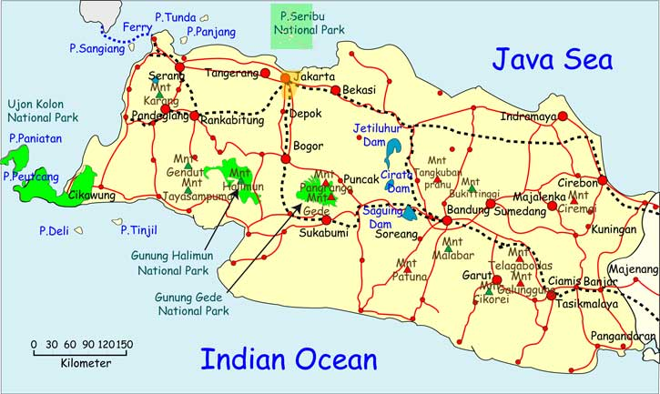 Where Is Bogor Indonesia Map