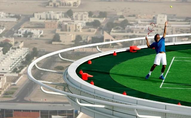 Lapangan Tenis Tertinggi Di Dunia