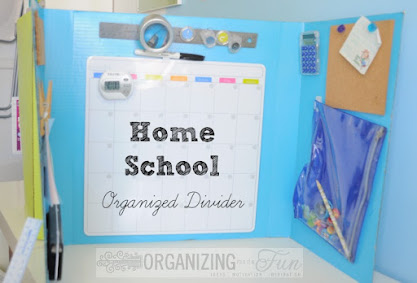 Homeschool Organizing Ideas