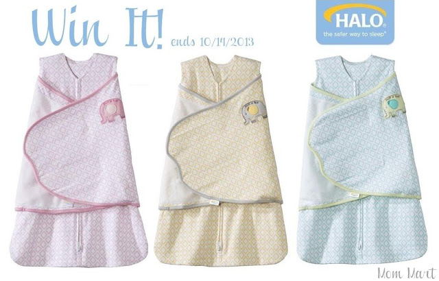 Win a Halo SleepSack Swaddle #Giveaway