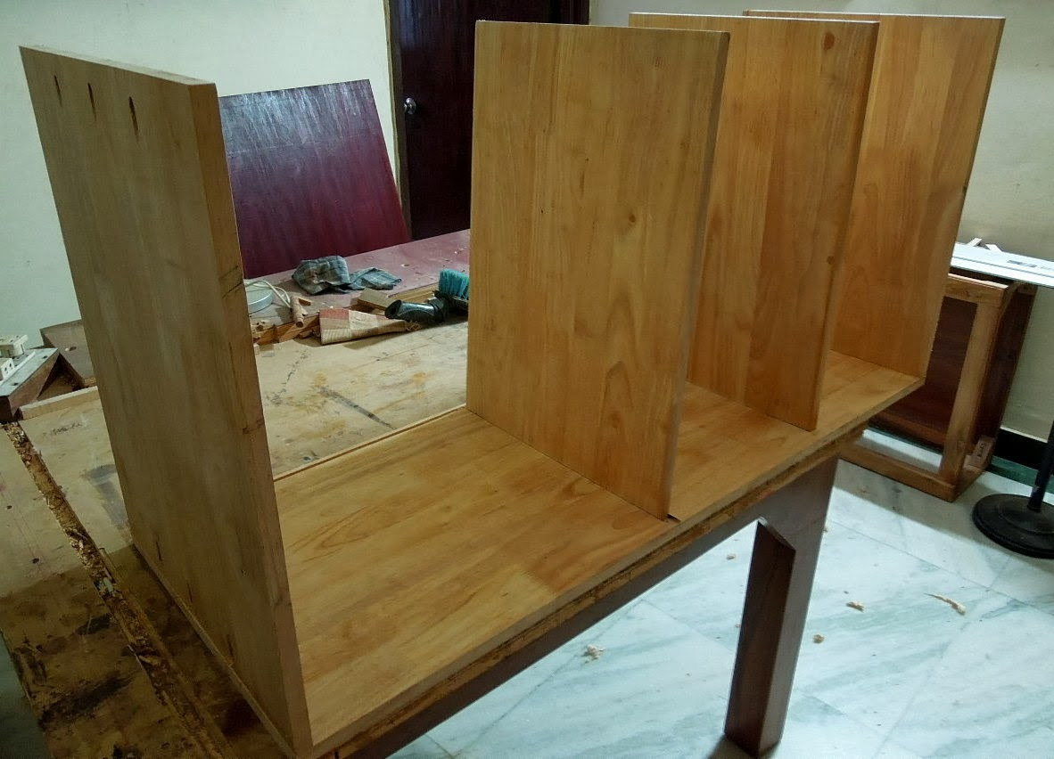 Very Impressive portraiture of The Indian DIY & Woodworker: Project Quick Bookshelf with Pocket  with #69491E color and 1182x852 pixels