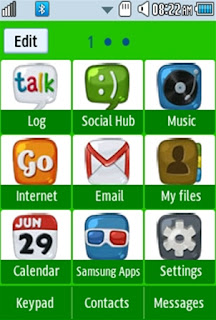 General Apple Samsung Corby 2 Theme 1 Menu