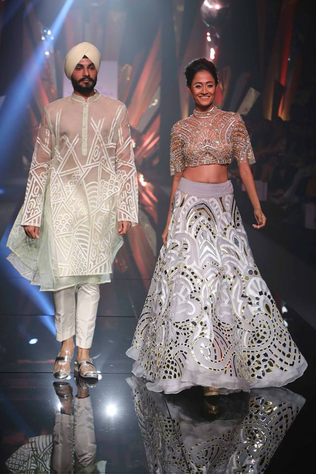 Abu Jani and Sandeep Khosla Lakmé Fashion week a/w 2015