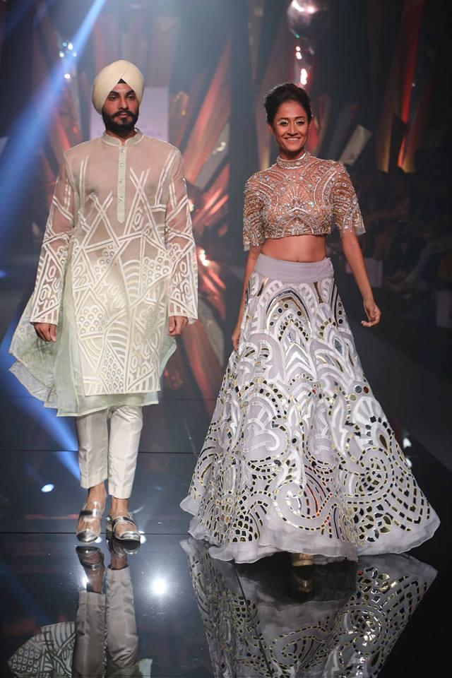 Abu Jani and Sandeep Khosla Lakmé Fashion week a/w 2015
