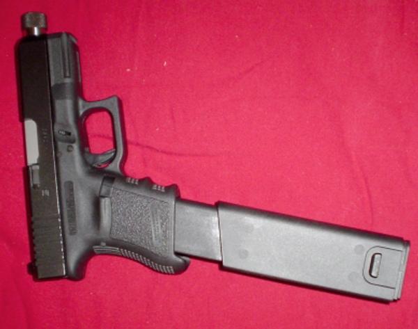 45 Gun Extended Clip   Car Interior Design
