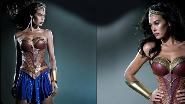 """Megan Gale en la película cancelada """"Justice League: Mortal"""" (2008)"""