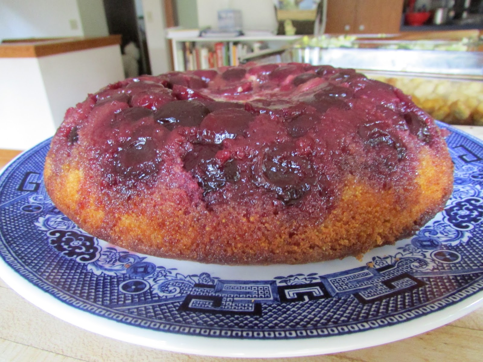 ... cherry cornmeal upside down cake cherry cornmeal upside down cake