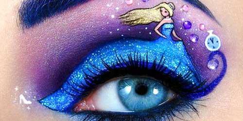 eye art sirena