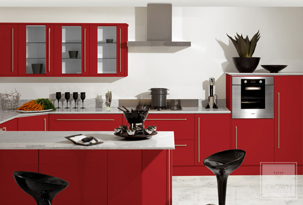 Amer kan mutfak modeller 2012 yen for Red kitchen designs photo gallery