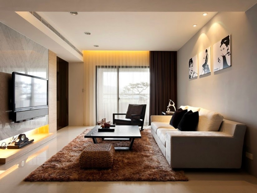 Modern Beautiful Living Room Furniture Design