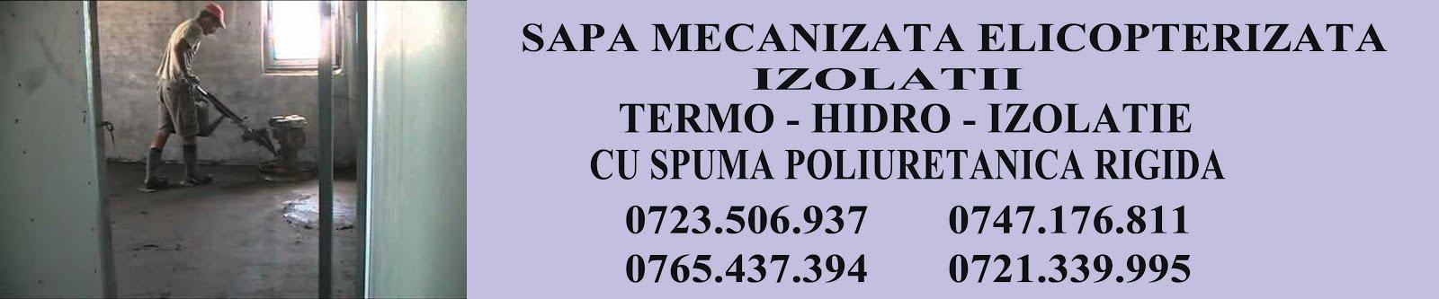 SAPE MECANIZATE 0721339995 BUCURESTI ILFOV