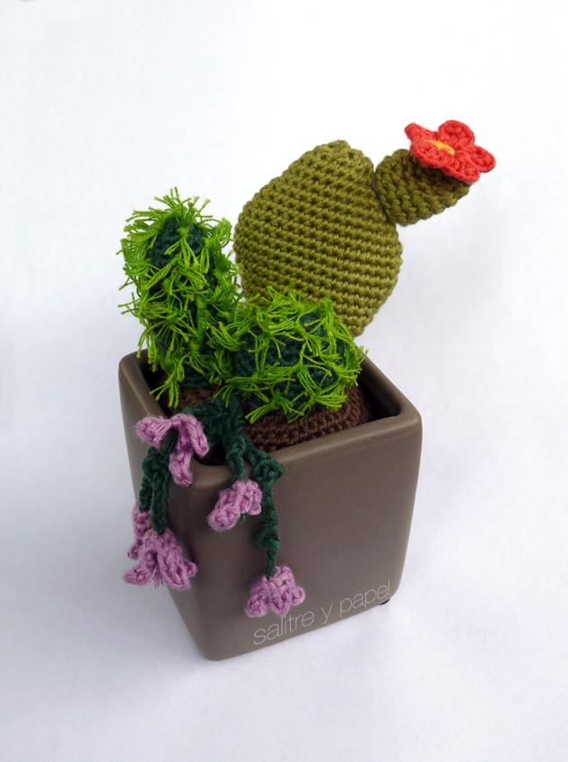 Amigurumi Cactus Tejiendo Peru : Salitre y papel: Cactus amigurumi