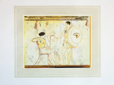 Όταν ο Γιάννης Κεφαλληνός εικονογραφούσε και η Σέμνη Καρούζου έγραφε για δέκα λευκές ληκύθους