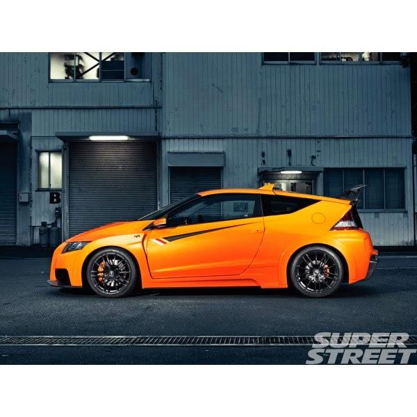 Full Bumper Honda CRZ Mugen RR