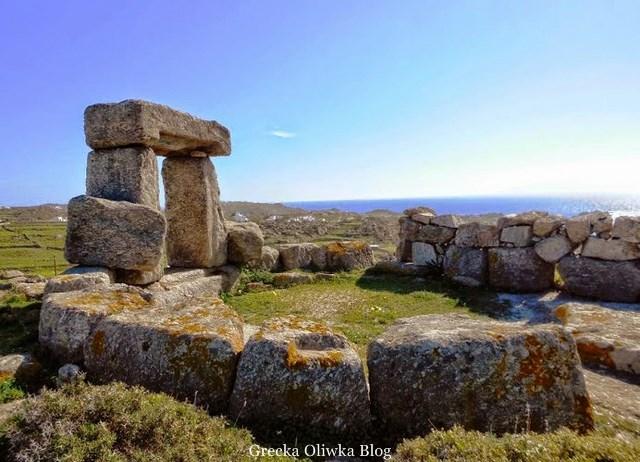 ruiny zabytkowej wieży