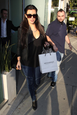 Kim Kardashian Updos Hairstyle