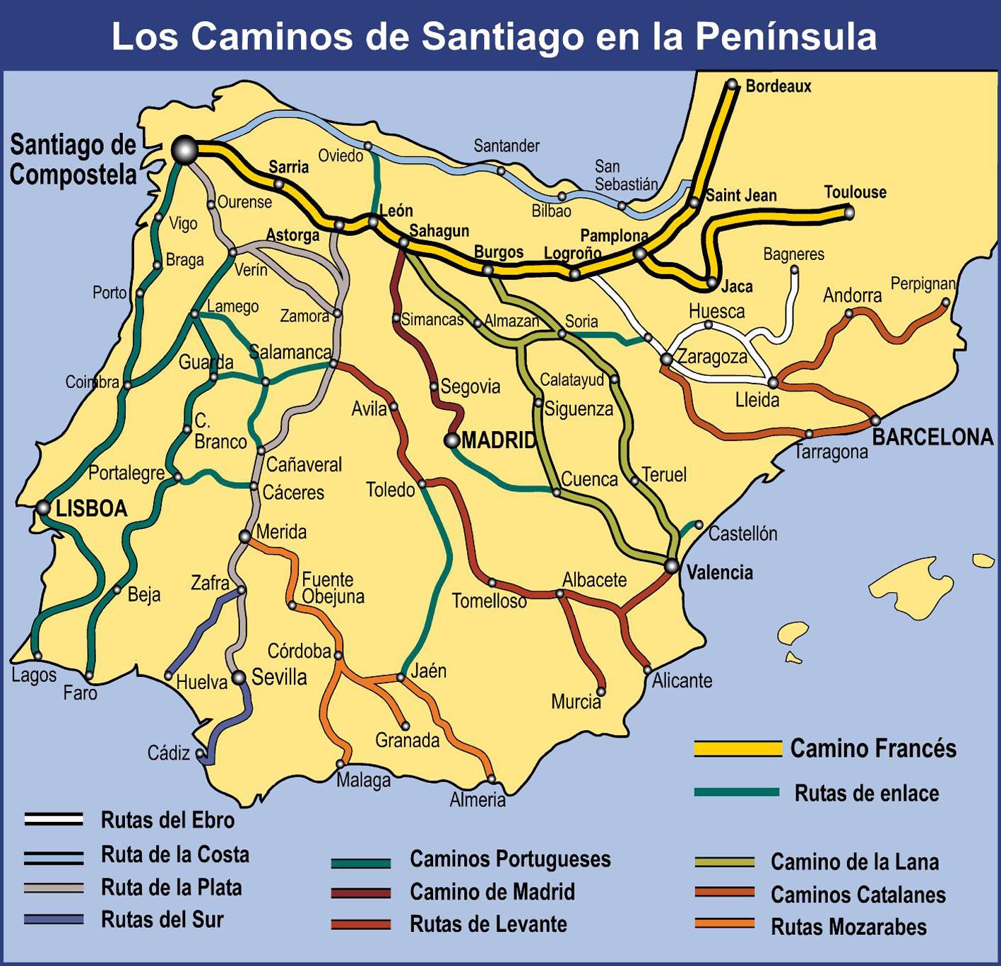 Campus Stellae: Los Caminos a Santiago: Los Caminos a Santiago en la ...