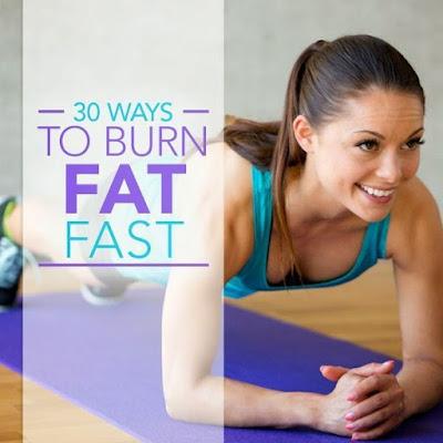 30 Ways to Burn Fat Fast