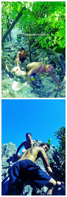 SKY is the Limit...  Heavenly Wonders of Caramoan, Camsur / heart-throbbing climb to the peak
