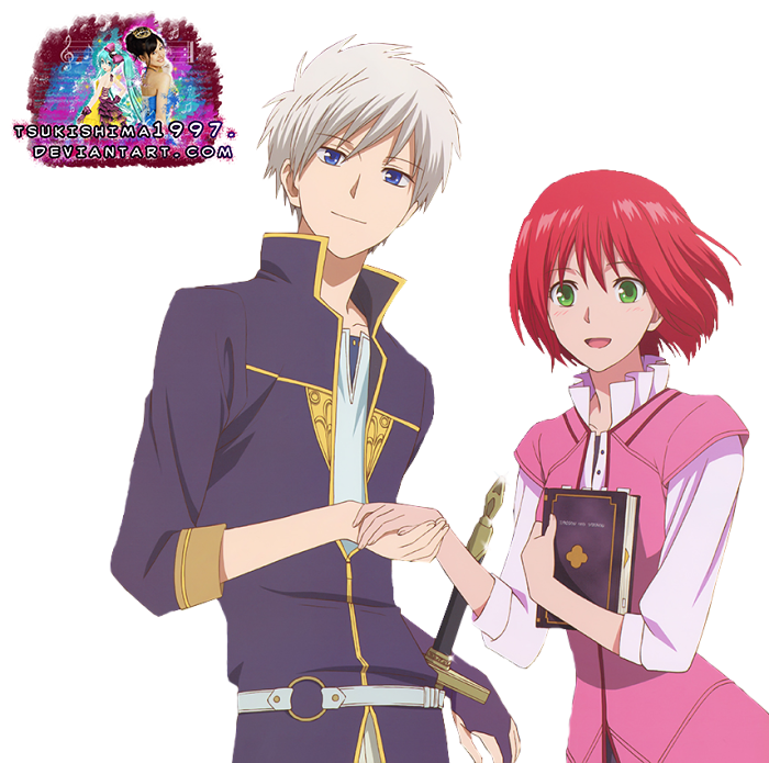 Akagami no Shirayuki-hime:Zen and Shirayuki Render