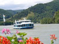 romantische bootsfahrt, rhein, schiff, Fahrgastschiff