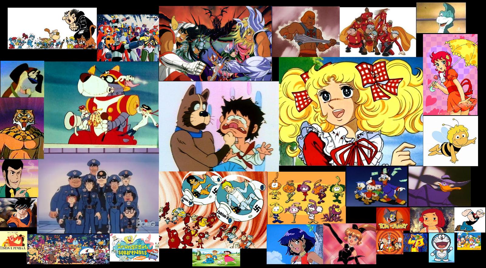 Cartoni animati e anime più belli degli