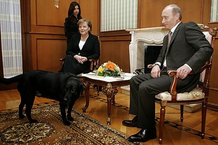 Cristina no es Merkel y Putin lo sabe