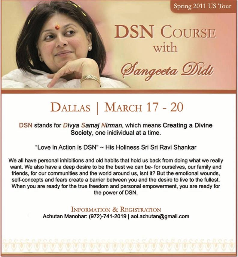Great March 17 20, 2011: DSN Course, Dallas