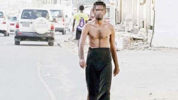 Lelaki Separuh Bogel Kejutkan Penduduk Mekah