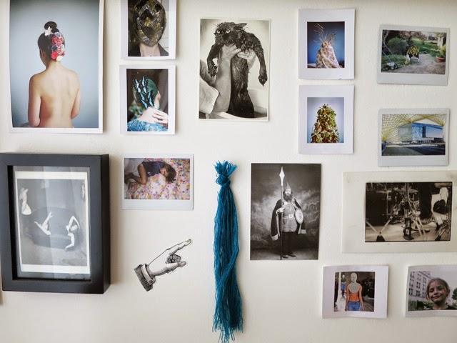 Moodboard Julie Robert Tissage contemporain